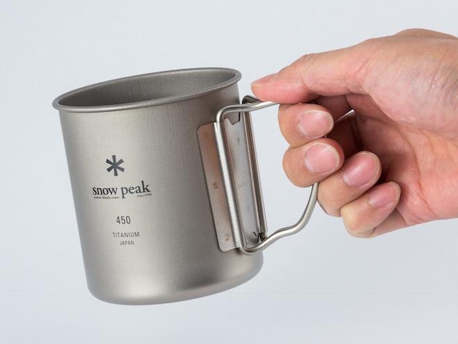 スノーピーク・チタンマグカップの基本性能