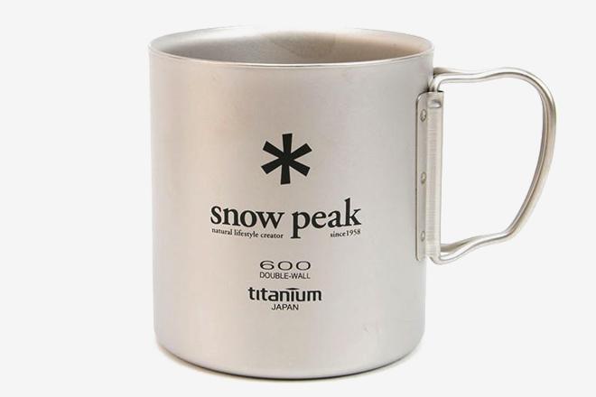 SNOW PEAK チタンダブル 600 マグ