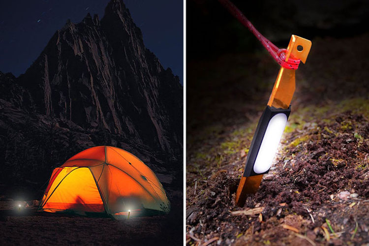 ペグ:UCO Light-Up Tent Stakes