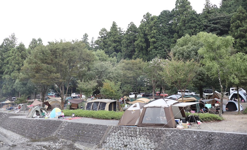 夏終わりの大津谷公園