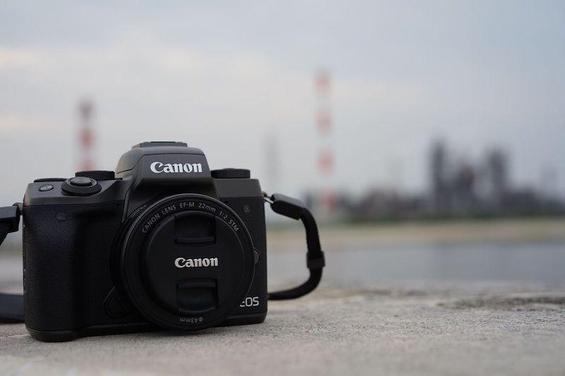 CANON EOS M5:キャンプやブログで使っているミラーレスカメラの紹介