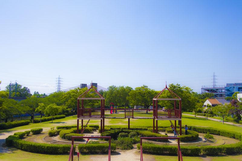 荒子川公園のわんぱく冒険広場
