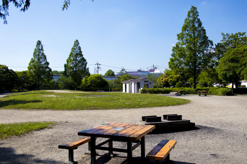 荒子川公園バーベキュー場の詳細。名古屋市港区にあるデイキャンプ場【無料・予約不要】