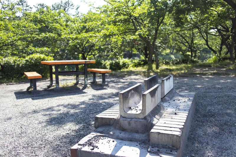 荒子川公園バーベキュー場の施設