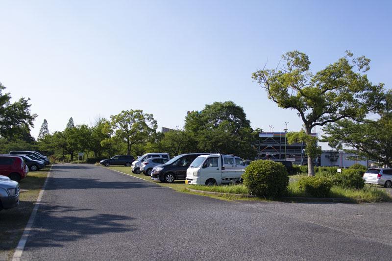 荒子川公園の無料駐車場