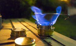 エスビット・アルコールバーナーとエバニューの五徳:レビュー