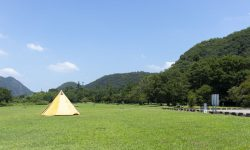桃太郎公園キャンプ場(栗栖園地)の詳細。愛知県犬山にある格安キャンプ場