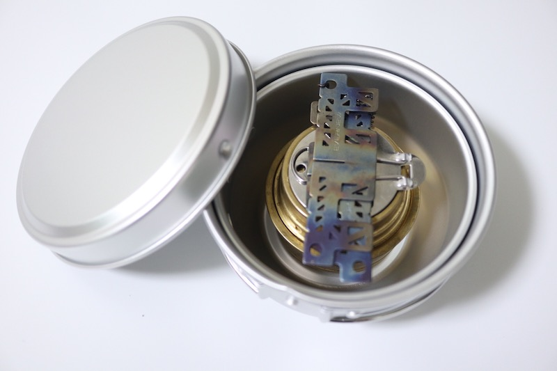 EPIアルミ3点食器セットとエスビットのアルコールバーナー