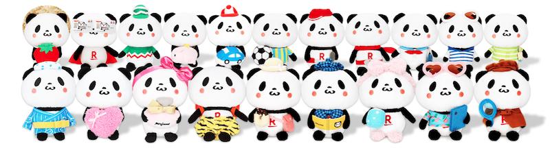 オリジナルお買いものパンダの種類