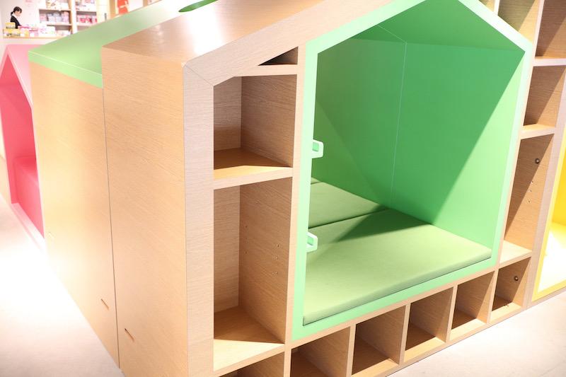 蔦屋書店のキッズスペース